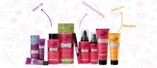 Lady Green producten voor tieners en jonge vrouwen